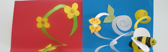 Springy Pop-up cards! Easter art workshop for all ages